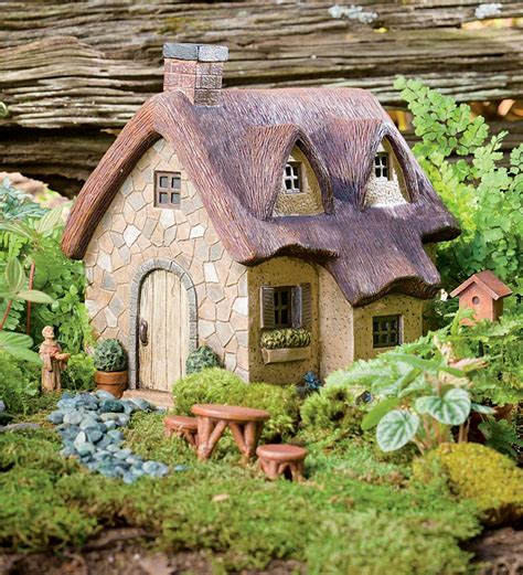 Canadian Country Woman Fairy Gardens