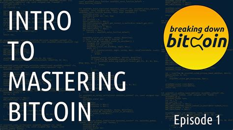 A distributed, worldwide, decentralized digital money. Intro - Breaking Down Bitcoin Ep. 1 - YouTube