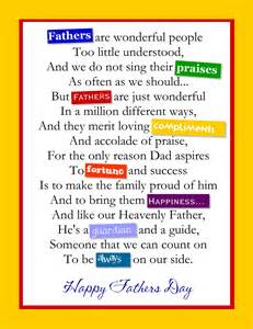 fathers day poems fathers day poems free large images