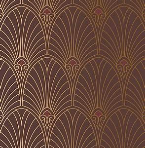 Papier Peint Art Nouveau : art deco wallpaper 2017 grasscloth wallpaper art nouveau ~ Dailycaller-alerts.com Idées de Décoration