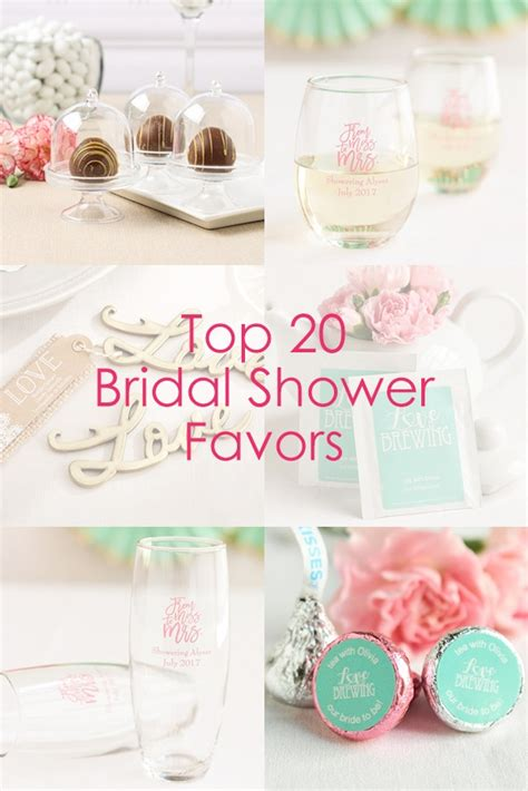 top  bridal shower favors beau coup