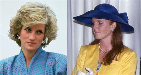 Royal feud: Princess Diana was 'jealous' of Sarah Ferguson ...