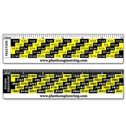 lenticular ruler conversion chart yellowblack lantor