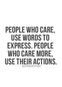 Action Speaks Louder than Words Quote About Life
