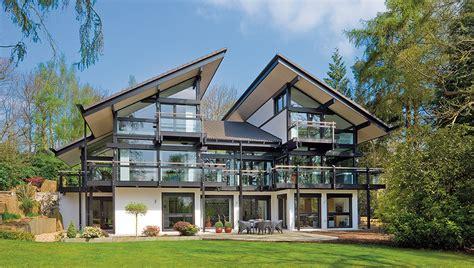 Moderne Häuser Viel Glas by Bauen Mit Glas Fertighausscout De