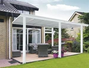 Toit Terrasse Aluminium : toit terrasse pergola blanche 6x3 m en aluminium ~ Edinachiropracticcenter.com Idées de Décoration