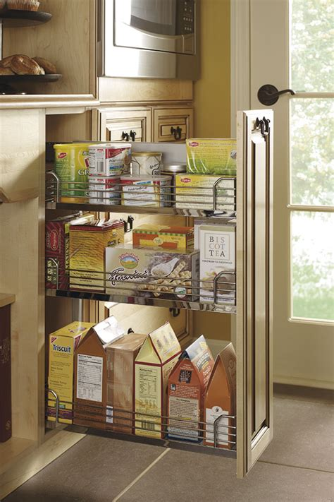 base pantry pull  cabinet kitchen craft cabinetry