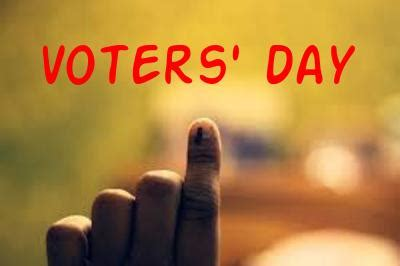 national voters day  celebration theme quotes essay