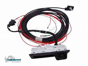 OEM Rear View Handle Camera Kit for RNS510, RCD510, RNS315 fit VW Tiguan, Touran, Sharan