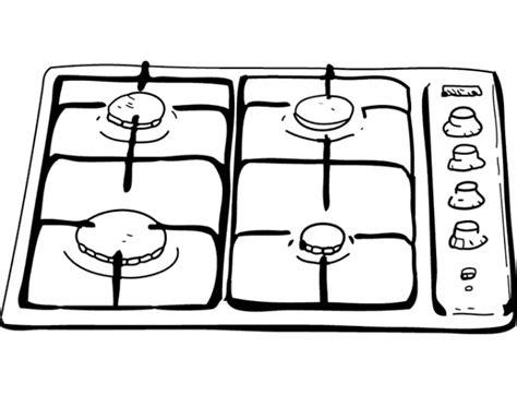 dessin de cuisine à imprimer coloriage dessin de gaz de cuisine dessin gratuit à imprimer