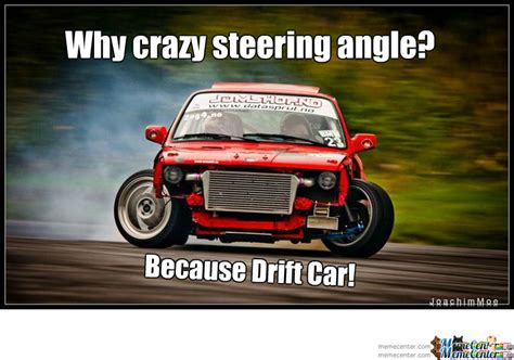 Why Crazy Steering Angle? Because Drift Car! By Dynodope