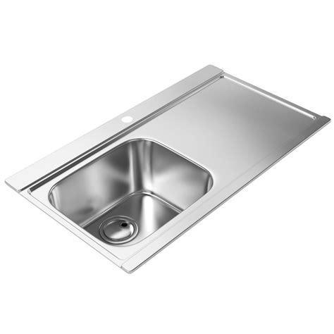 abode maxim stainless steel kitchen sink 1 0 bowl and rh