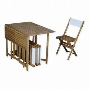 Table Alinea Bois : best table de jardin bois alinea contemporary awesome ~ Teatrodelosmanantiales.com Idées de Décoration