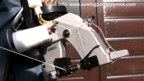 newlong industrial np  portable bag sewing machine cerradoras de sacos youtube