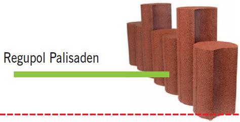 palisaden beton rotbraun ulli kleinhenn spielger 228 te und freizeitanlagen