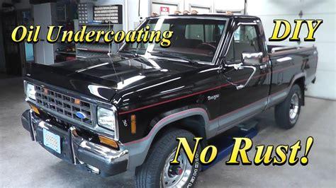 Undercoating Vs Rust Proofing
