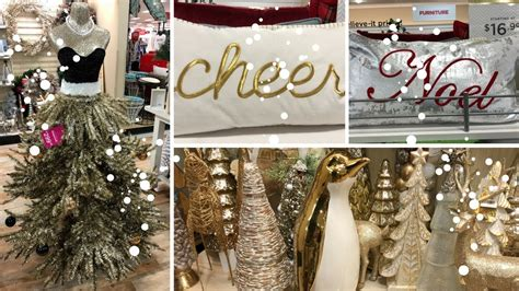 home goods shop   part  decor christmas decor
