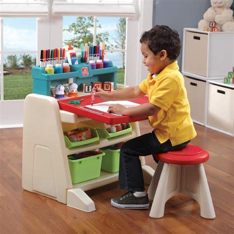 flip and doodle easel desk step 2 flip doodle easel desk with stool toys games