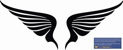 Wings Angel Clip Clipart Wing Vector Sayap