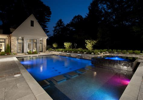 Pool Design by Modern Inground Pool Designs From Anthony Sylvan