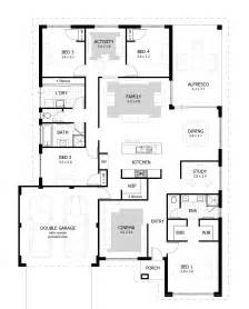 homes plans 4 bedroom house plans home designs celebration homes