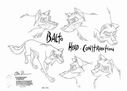 Balto Characters Sheets Character 1995 Concept Cartoon