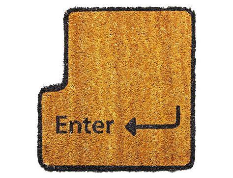 Key Doormat by Enter Key Doormat Type With Your Toes