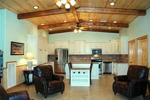 Impressive Metal Barndominium Home W Abundant Storage 24