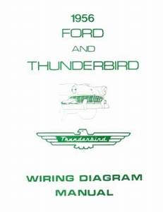 Ford 1956 Customline  Fairlaine  U0026 Thunderbird Wiring