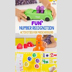 Fun Number Recognition Activities For Preschoolers  Fun With Mama