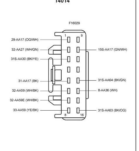 Ford Focus Central Locking Module Wiring Diagram Scor