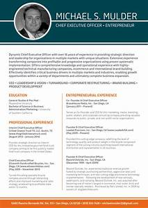 beneficial ceo resume template best resume format With best ceo resume