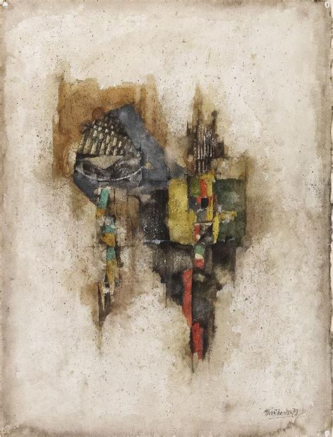 abstract composition  johnny friedlaender textures