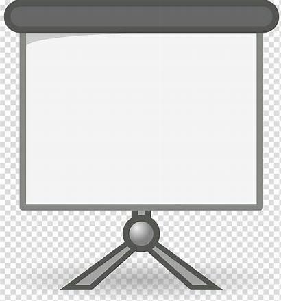 Projector Screen Clipart Slide Transparent Powerpoint Clipground