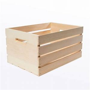 Crates & Pallet Large Wood Crate - 18in x 12 5in x 9 5in