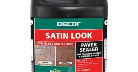 oldcastle 3 78 l decor satin look paver sealer lowe s