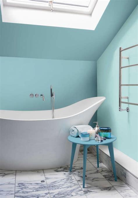 carrelage bleu turquoise salle de bain maison design