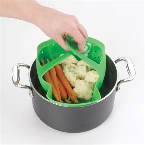 silicone steamer oxo grips cooking ninja accessories system must rack roasting cutleryandmore