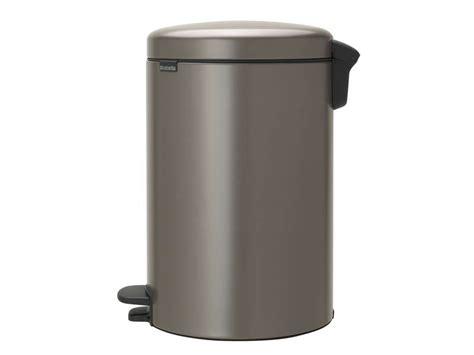 conforama poubelle cuisine poubelle cuisine 20 l gris icon vente de poubelle de