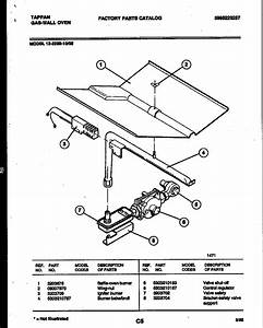 Gas Oven  Tappan Gas Oven Parts