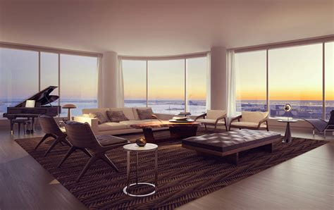 Living Room W Nyc by Renderings For 50 West Batterypark Tv We Inform