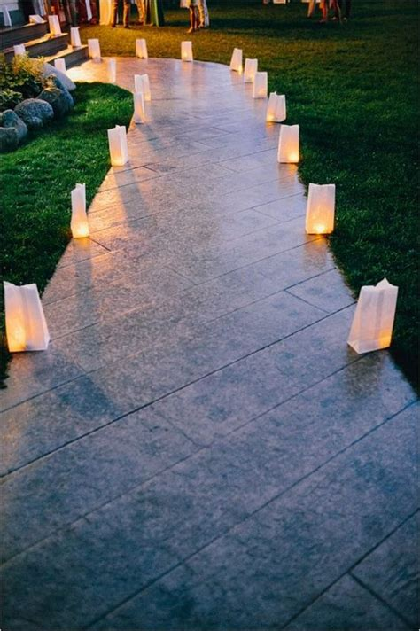 creative wedding entrance walkway decor ideas deer