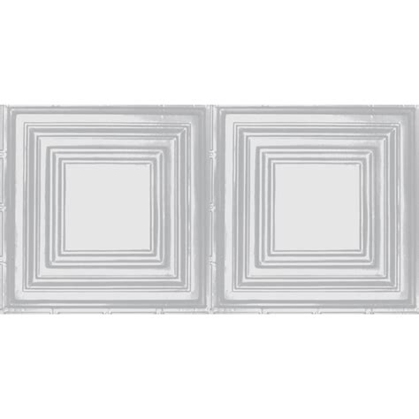 white tin ceiling tiles home depot shanko 2 ft x 4 ft nail up direct application tin