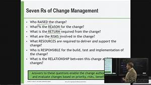 The Seven Rs Of Change Management