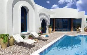 vente djerba tunisie maison neuve avec piscine vente With modele de maison en l 5 image maison tunisienne