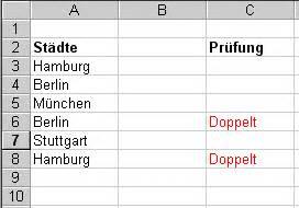 Excel Kalenderwoche Berechnen : wie kann ich bei excel doppelte eintr ge aufsp ren webmacher ~ Themetempest.com Abrechnung