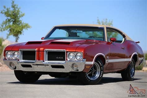Documented Concours Quality 1971 Oldsmobile 442 W 3o 1 Of