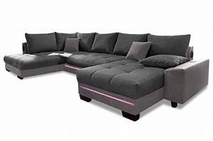 Couch Mit Led Und Sound : wohnlandschaft nikita mit led und sound anthrazit sofas zum halben preis ~ Bigdaddyawards.com Haus und Dekorationen