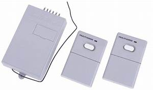 Multi Code 300 Mhz 2 Remote Control Transmitters And 1