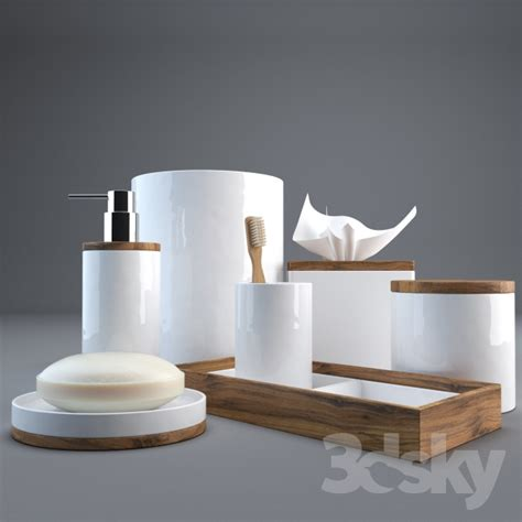 Modern Bath Accessories Collections by 3d Models Bathroom Accessories Hotel Collection Century